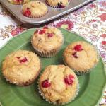 cranberry whole wheat muffins e1380075620283