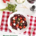 winter caprese with beet noodles1