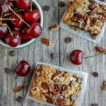 Sweet Cherry Oat Bars
