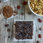 chocolate lentil bars