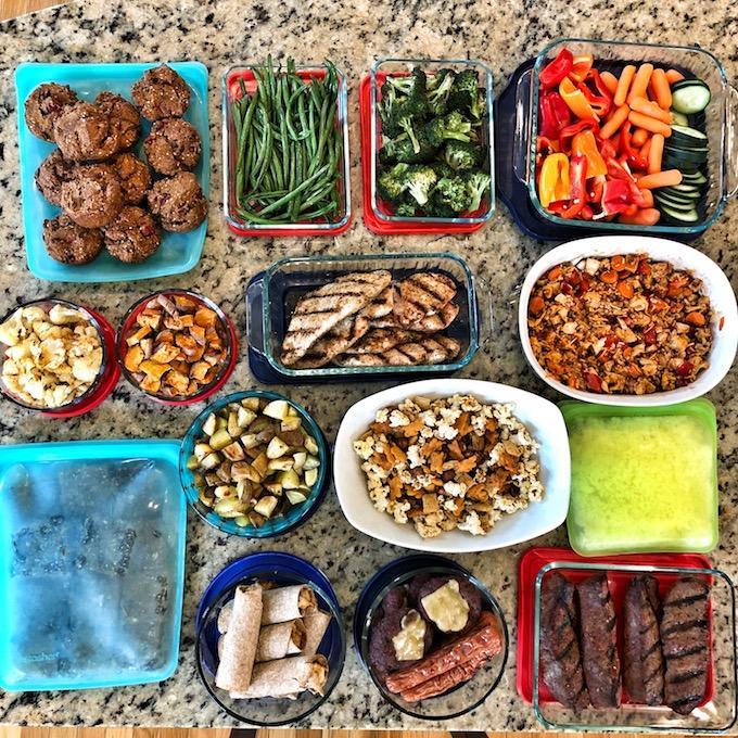 5 Steps to Food Prep