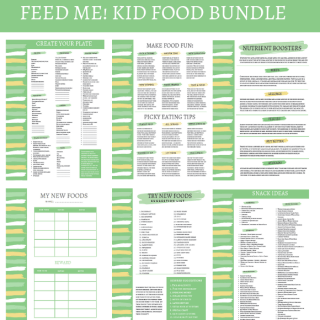 Kid Food PDF Bundle