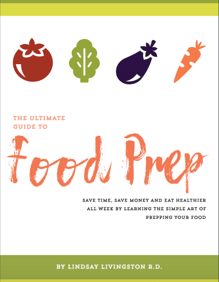 food prep ebook cover