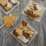 Easy Peanut Butter S'mores Bars
