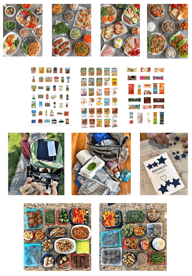 roundups and food prep recipes from an RD