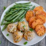 Apple Cheddar Turkey Meatballs