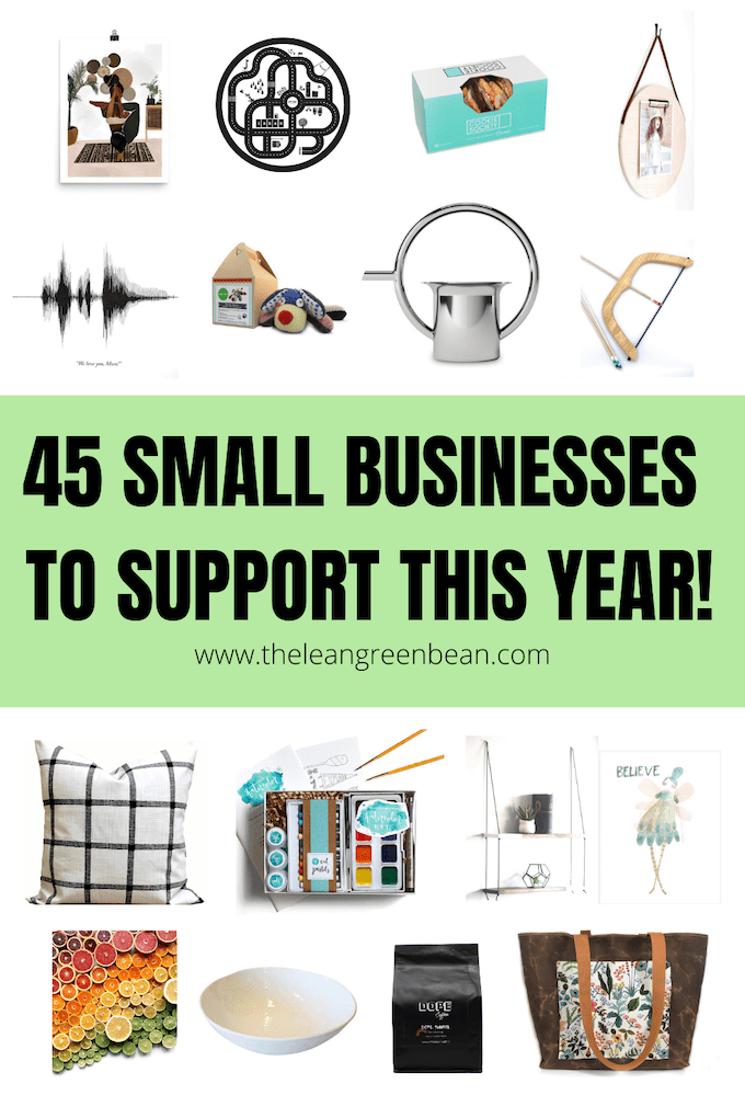 Here are 45 Small Businesses To Support in 2020! Some are Black-owned, some are local to Ohio, all can be shopped and supported from the comfort of your own home!
