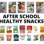after school healthy snacks