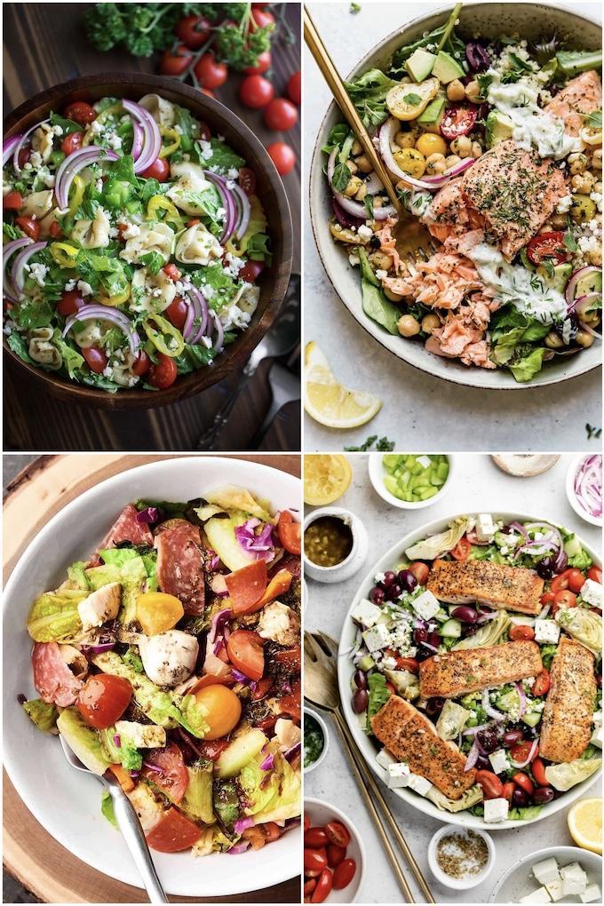 mediterranean salad ideas