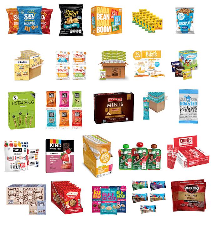 healthy classroom snacks from amazon