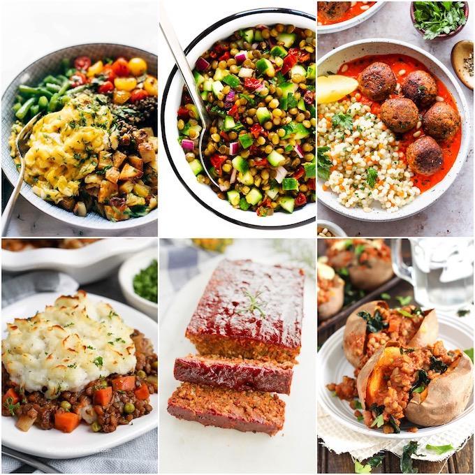 lentil recipes not soup