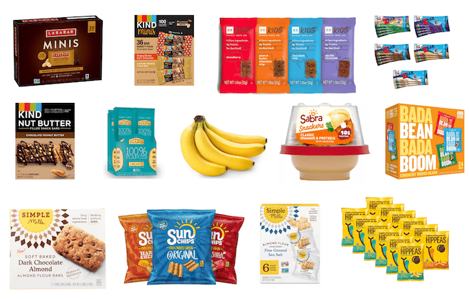 individual school snacks not nut free