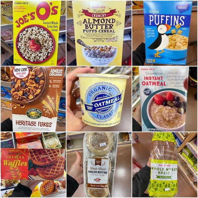 healthy trader joes breakfast
