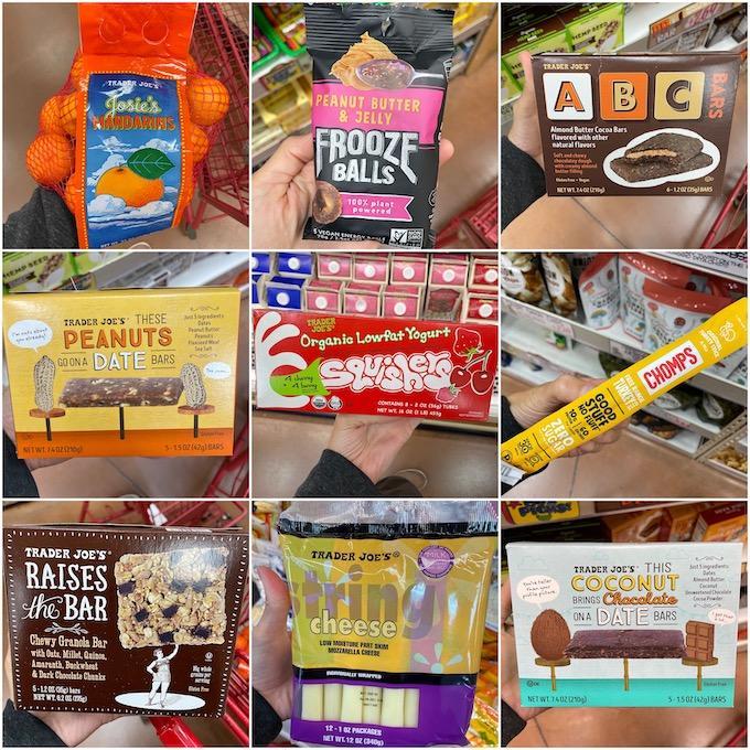 trader joe's individually wrapped snacks