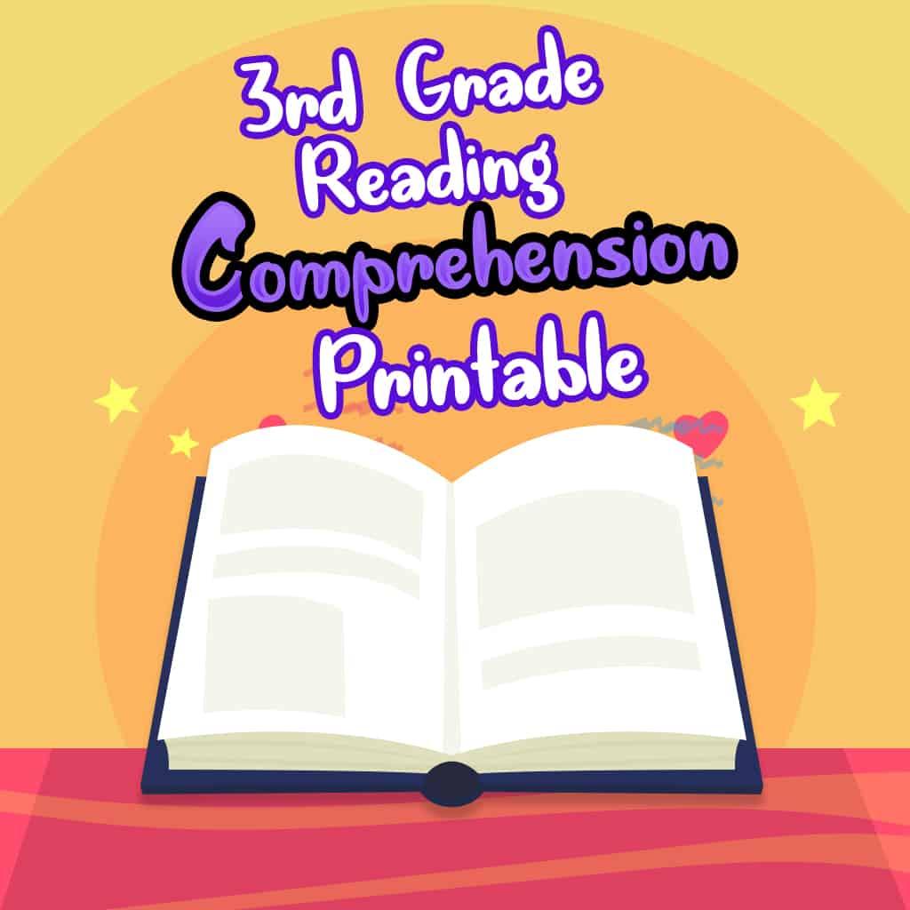 3rd Grade Reading Comprehension Worksheets For Free