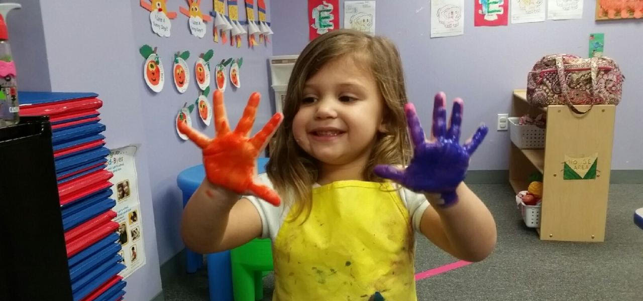 Our childcare curriculum has structure, while encouraging a child to realize their control, by making individual choices.