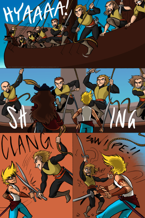 the legend of jamie roberts genderqueer pirate webcomic page 10