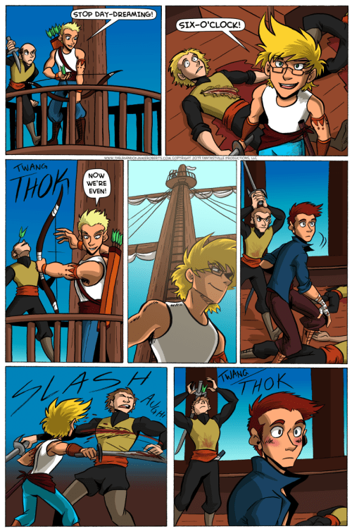 the legend of jamie roberts enby comic page 14