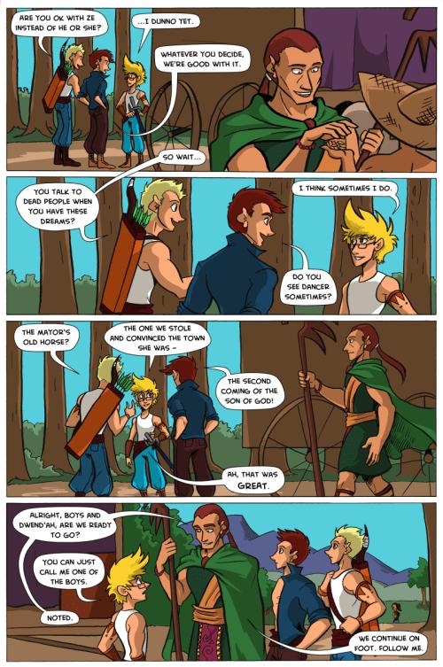 the legend of jamie roberts genderqueer pirate webcomic adventure page 62