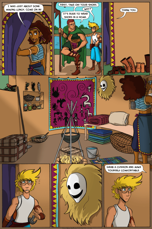 the legend of jamie roberts lgbtq genderqueer pirate adventure webcomic page 65