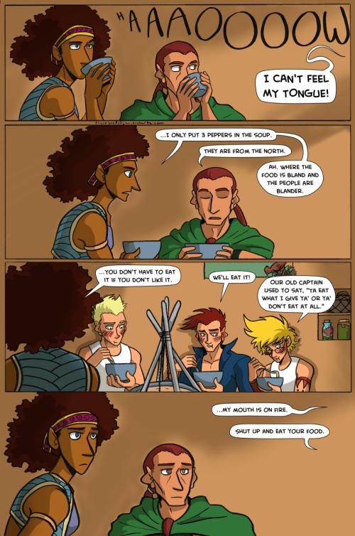 the legend of jamie roberts lgbtq genderqueer pirate adventure webcomic page 69