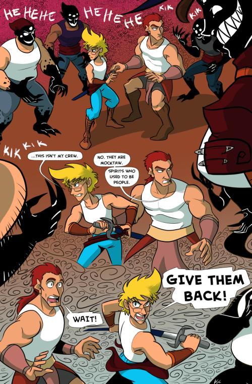 the legend of jamie roberts lgbtq genderqueer pirate adventure webcomic page 101