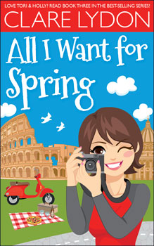 All I Want for Spring by Clare Lydon lesbian novel