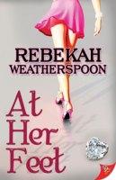 rebecakah weatherspoon at her feet