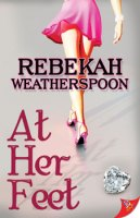 rebecakah weatherspoon at her feet