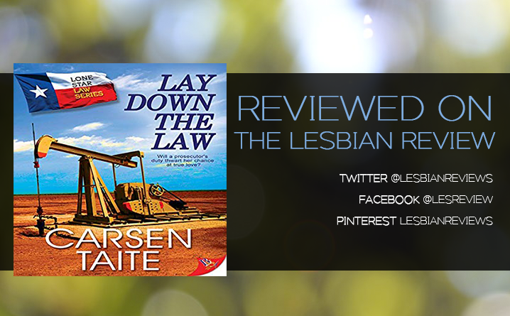 Lay Down the Law by Carsen Taite: Audiobook Review