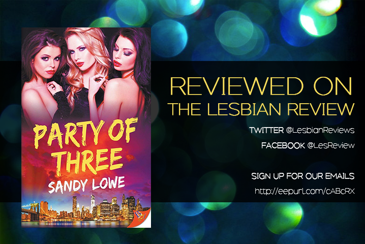 Party Of Three By Sandy Lowe Audiobook Review The Lesbian