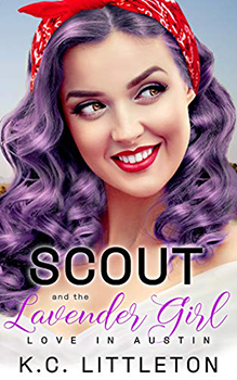 Scout and the Lavender Girl by KC Littleton