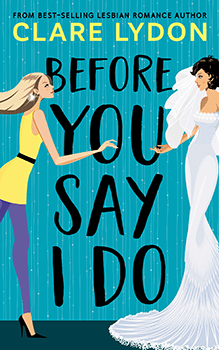 "Before You Say I Do by Clare Lydon is a romance about listening to your heart and having the courage to say, ""No"" to the pressure and expectations from the people around you. Abby Porter has a fabulous career and the perfect fiancé in Marcus Montgomery. He is sweet, attentive, and rich. She's struggling to tap into the enthusiasm that most brides-to-be feel. Marcus thinks it's just stress, so he hires her a professional bridesmaid. When Abby meets Jordan Cohen, stars collide. Jordan might be getting paid to be her long-lost childhood friend who just so happened to reappear in her life in time to be her bridesmaid, but Jordon sparks feelings in Abby that she hasn't acknowledged since university. The run up to the wedding has them joined at the hip, and a heady mix of attraction and lust is making working together close to impossible. Marcus is oblivious. With the wedding days away, will Abby make it to the altar? The Characters Both Abby and Jordan are gorgeous, smart, and witty, yet they come off as typical women who have the type of fears and insecurities that are universal. Jordan is a people person. She can charm just about anybody, especially difficult mothers-of-the-groom who have their own agendas for the perfect wedding. Combined with her genius for planning and anticipating the needs of a bride-to-be, she is the perfect bridesmaid. However, she never anticipated working with a bride who would work her way into Jordan's heart. From the get-go, Jordon struggles with putting her attraction to Abby aside. She's a professional! She knows her place and her duty, yet as they become closer Jordan's resolve begins to falter. She's never had much success with relationships of her own, so she's overwhelmed by her feelings. Once she realizes her heart belongs to Abby, she's dejected because she knows Abby's future belongs to someone else. I couldn't help but feel compassion for Jordan's predicament. God bless Abby. Her life looks perfect on paper. She's got a job that pays well, and she's about to receive a big promotion. She's engaged to a man who by all accounts is perfect for her. But there's a disconnect. Passion is what's missing from her career and her relationship. When we first meet her, there's a sliver of doubt in her mind, but it's nothing she can put her finger on. The closer her wedding day gets, the more doubts she begins to have. Spending time with Jordan reminds her that her original career goals had nothing to do with a fat bank account. When she realizes that Jordan's the spark that's missing from her life, she doesn't feel like there's anything to be done. She knows what's expected of her, and who calls off a wedding days before it's supposed to take place? There comes a point in the story where Abby can either do what's safe or be bold and throw caution to the wind. The build up to that point kept me riveted to this book. The Writing Style Lydon has a knack for witty writing, and it just seems to get better with each book. As with all of her previous books, I was laughing out loud at some of the character's observations about the situations they found themselves in. Being American, the inclusion of British slang and euphemisms had me cackling. Even more lovely, beneath the story's humor is a sweetness and intensity to Abby and Jordon's relationship. Out of all Lydon's books, Before You Say I Do is the slowest burn romance yet. At times it was unbearable. I found myself chanting, ""Just kiss her!"" The pacing of the book is spot on. (See, some of that British slang rubbed off.) The book starts out six weeks before the wedding, and Lydon makes each day count. Even if Abby and Jordan aren't in a scene together, their time apart is just as important in moving the plot along. The Pros Goodness knows I love all things British, but part of this story is set in Cannes, France. It's all very glamorous and high class, and it makes for the perfect backdrop for a hen party. (That's ""bachelorette party"" for us Yanks). Villas with private chefs and luxury yachts scream romance so it's no wonder Jordan and Abby struggle keeping their libidos in check. The Cons So, here's the thing, Abby does cheat on her fiancé with Jordan. There's no way this story could be told without that. Neither character feels good about it, and Lydon goes to great lengths to keep this from being too unseemly. This wasn't an issue for me in the least. The Conclusion https://www.thelesbianreview.com/category/book-review/highly-recommended-books/victorias-favourites/ There is no such thing as a bad Clare Lydon book. She's as reliable as rain on a bank holiday weekend. (I'm getting more British by the second!) It seems like every new book I read from her becomes my new favorite. Her ability to mix humor with deep, heartfelt emotions is dazzling. Jordan and Abby couldn't be more likable, and I was 100% invested in their happily ever after. This is a must read if you're looking for something to bring a smile to your face and put a skip in your step. Head on down to the Amazon link and one click this lovely romance. You won't be disappointed. Excerpt from Before You Say I Do by Clare Lydon ""I'm having trouble getting the zip done all the way up. Could you give me a hand?"" Jordan walked up behind her, trying to ignore her racing heartbeat. Despite everything, her hands were steady as she grasped the zip on Abby's dress and tugged it upwards. The dress fit perfectly. As Jordan finished, her hand grazed Abby's bare back. Jordan stilled. She flicked her eyes upwards, and caught Abby's gaze in the mirror. Had she gasped slightly when Jordan touched her? Whether she had or not, Jordan was still standing motionless, expression trained on Abby. The moment sat between them, pulsing. Abby was giving her a weird look. It was one Jordan had seen before. A mix of want, but also frustration. She'd glimpsed it before in her life. But never with a bride. Jordan didn't look away for a few more moments, trying to work it out. Abby was getting married. To a man. She was simply getting carried away. Get This Book On Amazon (When you use this link we get a small commission that helps us run the site) (leave this blank, I fill it in on my side) I just read this review for Before You Say I Do by Clare Lydon Bits and Bobs ISBN number: 9781912019847 Publisher: Custard Books Clare Lydon Online www.clarelydon.co.uk If you enjoyed this book then you should also look at Marriage of Unconvenience by Chelsea M. Cameron https://www.thelesbianreview.com/marriage-unconvenience-cameron/ Note: I received a free review copy of Before You Say I Do by Clare Lydon. No money was exchanged for this review. When you use our links to buy we get a small commission which supports the running of this site"