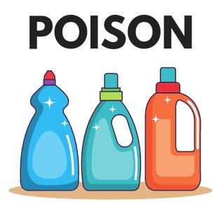 detergent are poison