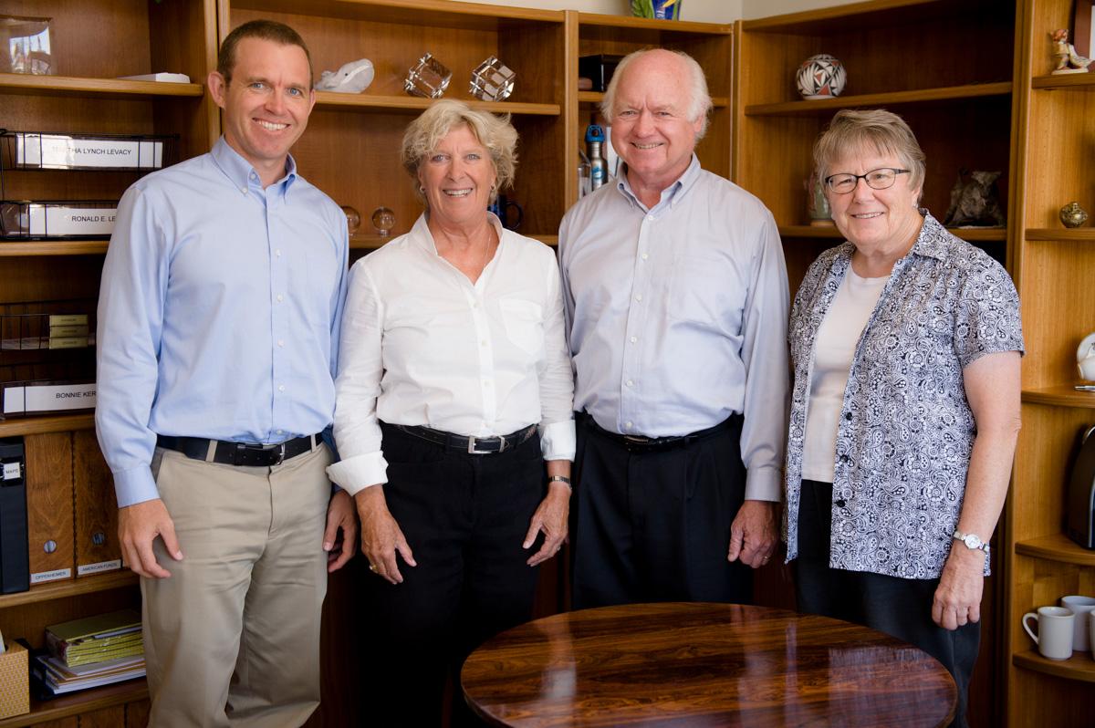 The Levacy Group Andrew Levacy, Martha Levacy, Ron Levacy and Bonnie Kerr