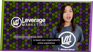 still image of video from leverage comprehensive digital plan landing page