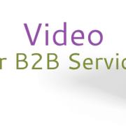 b2b service video marketing featured image