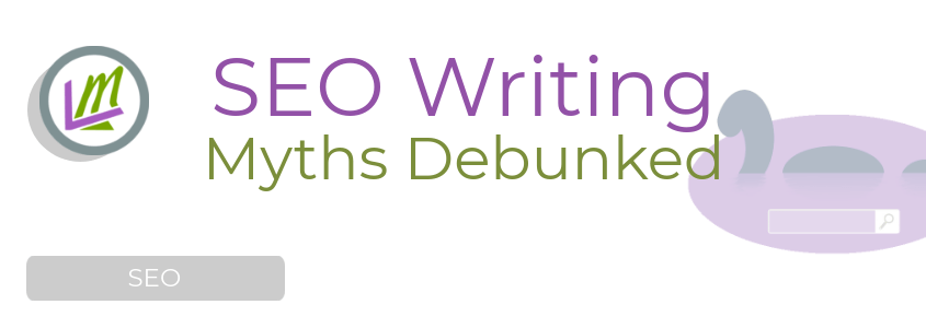 Blogging for SEO Myths Concept