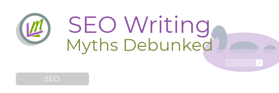Blogging for SEO Myths Concept