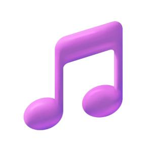 leverage purple musical note