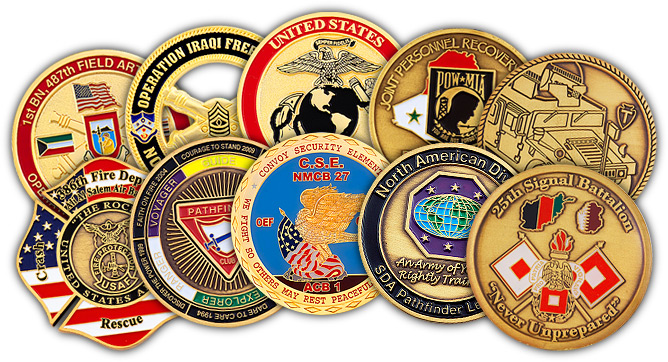 ADRENALINE CHALLENGE COINS ARE THE HOT ITEM TO OWN! - THE