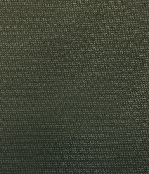 Saville & Young (S&Y)Dark Green 100% Giza Cotton Dots Printed Trouser Fabric (Unstitched - 1.30 Mtr)