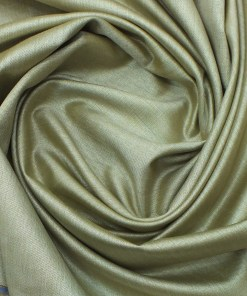 Mark & Peanni Beige Structured Very Shiny Terry Rayon Premium Three Piece Suit Fabric (Unstitched - 3.75 Mtr)