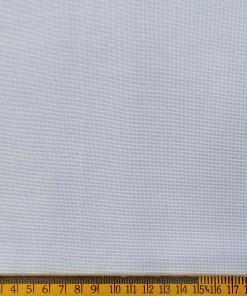 Exquisite Men's Cotton Checks  Unstitched Shirting Fabric (Sky Blue)