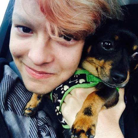 Marcky-and-his-dog