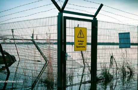 Old-Electricity-Fence-Warning-Sign-