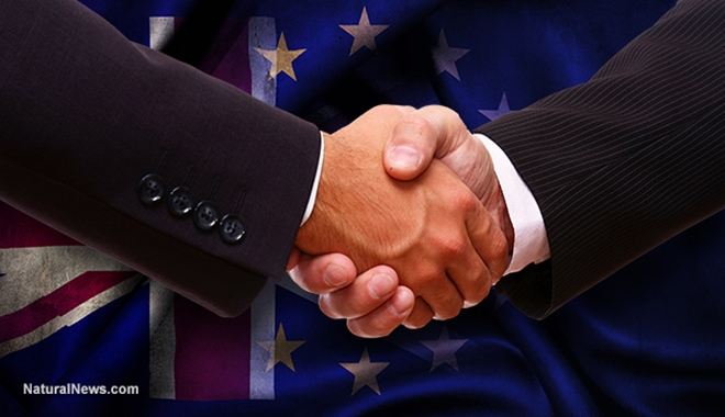 Brexit-Handshake