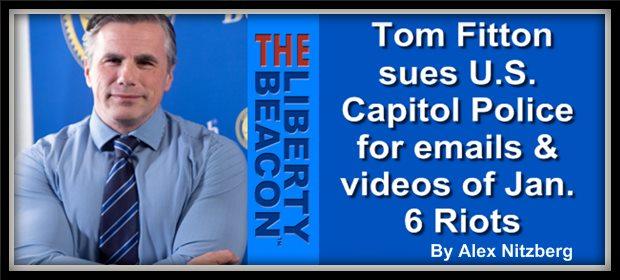 Tom Fitton sue D.C. PD feat 2 16 21
