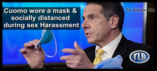 Cuomo Mask Sex abuse BBee feat 3 7 21