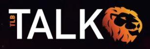 TLBTalk logo black